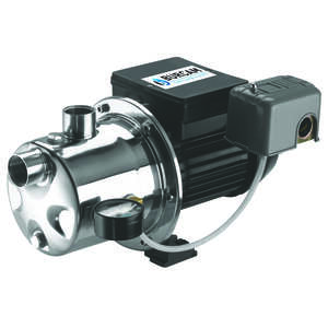 Burcam  Stainless Steel  Shallow Well Jet Pump  3/4 hp 900 US GPH  115/230 volts