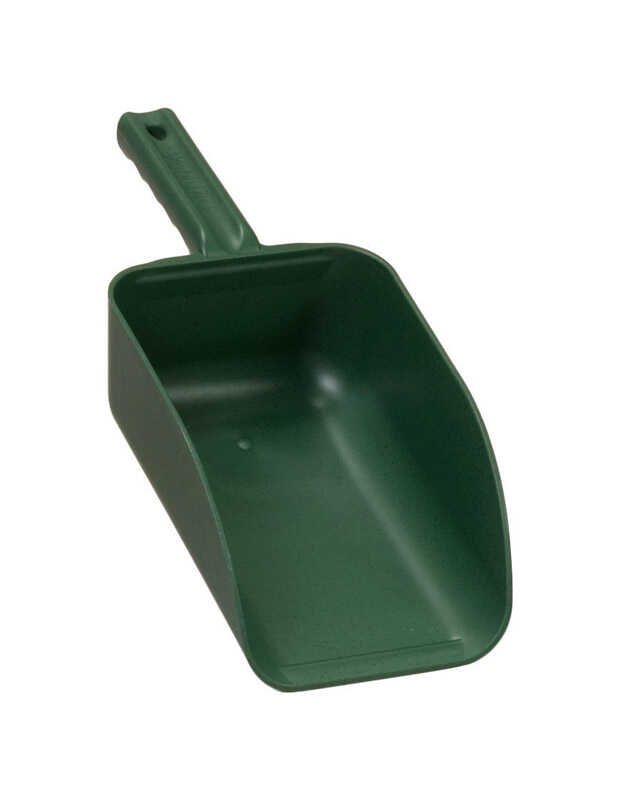 Poly Pro Tools  Plastic  Hand Scoop  82  Green