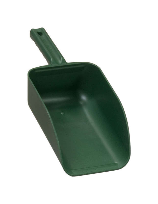 Poly Pro Tools  Plastic  Green  82 oz. Hand Scoop