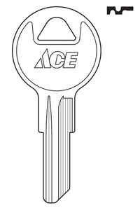 Ace  House/Office  Key Blank  Single sided For Yale Locks