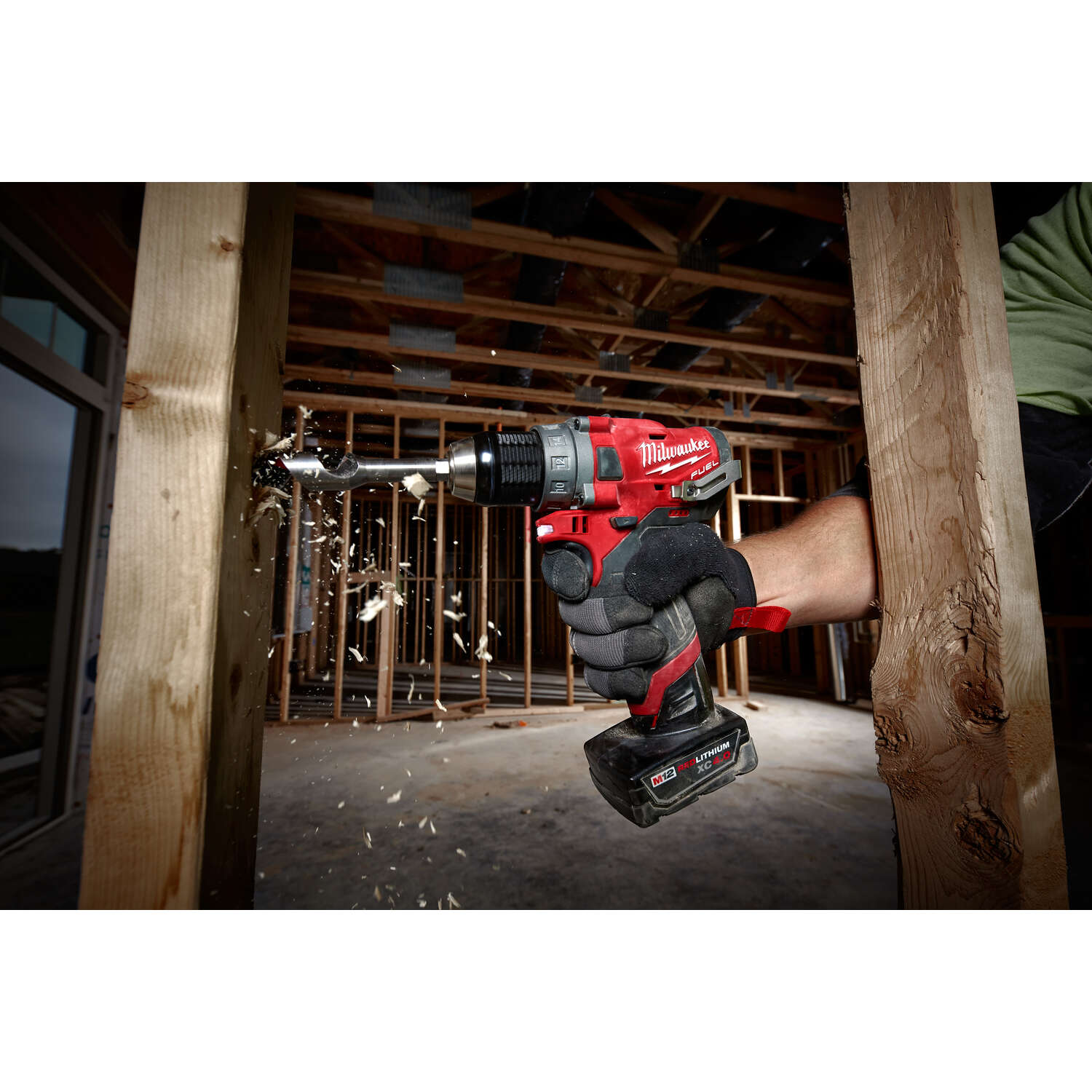 Milwaukee  M12 FUEL  12 volt 1/2 in. Brushless Cordless Drill/Driver  1700 rpm 2 speed
