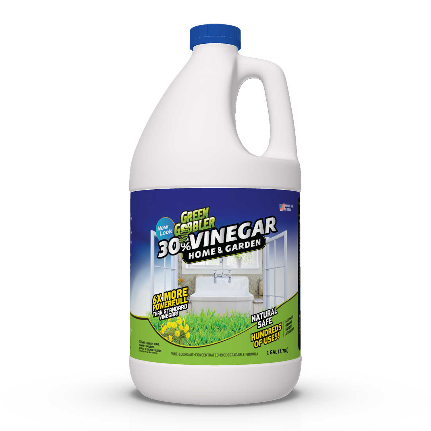 Green Gobbler  RTU Liquid  Organic Concentrated 30% Vinegar  1 gal.