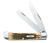 Case  Trapper  Amber  Stainless Steel  7.1 in. Pocket Knife