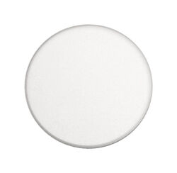 Prime-Line  3-1/4 in. H x 3-1/4 in. W x 3-1/4 in. L Vinyl  White  Wall Protector  Mounts to wall