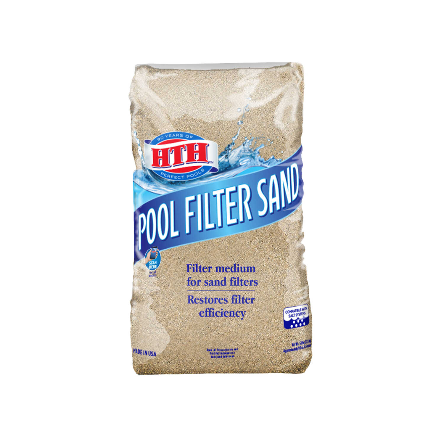 Stupendous Hth Pool Filter Sand 50 Lb 26 In H X 14 In W X 4 In L Interior Design Ideas Gentotthenellocom