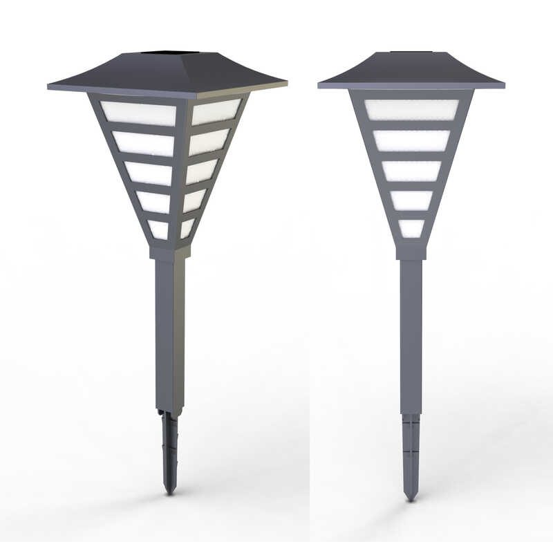 Living Accents  Solar Powered  LED  Pathway Light  1 pk