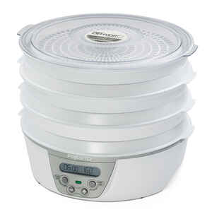 National Presto  6 Tray  White  Semi-Gloss  Food Dehydrator  12