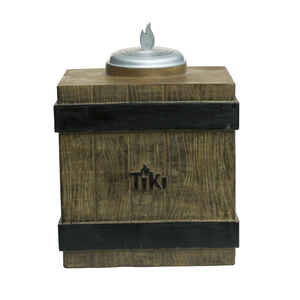 Tiki  Clean Burn  Metal  Brown  7 in. Tabletop Torch
