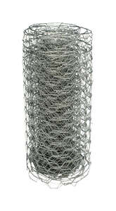 M-D Building Products  2 ft. H x 8 ft. L 1 Ga. Silver  Poultry Fence