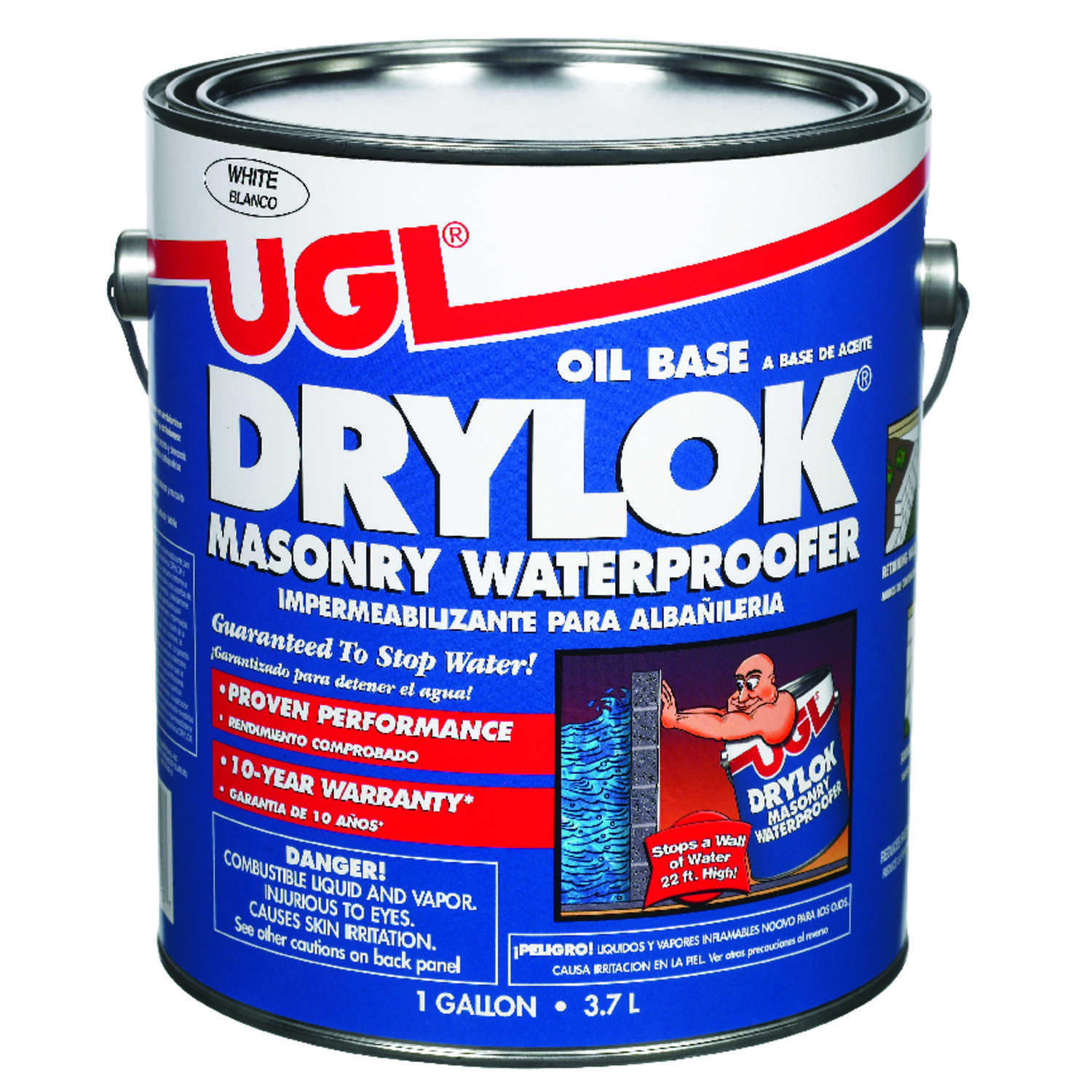 Drylok  White  Latex  Oil Based  Waterproof Sealer  1 gal.