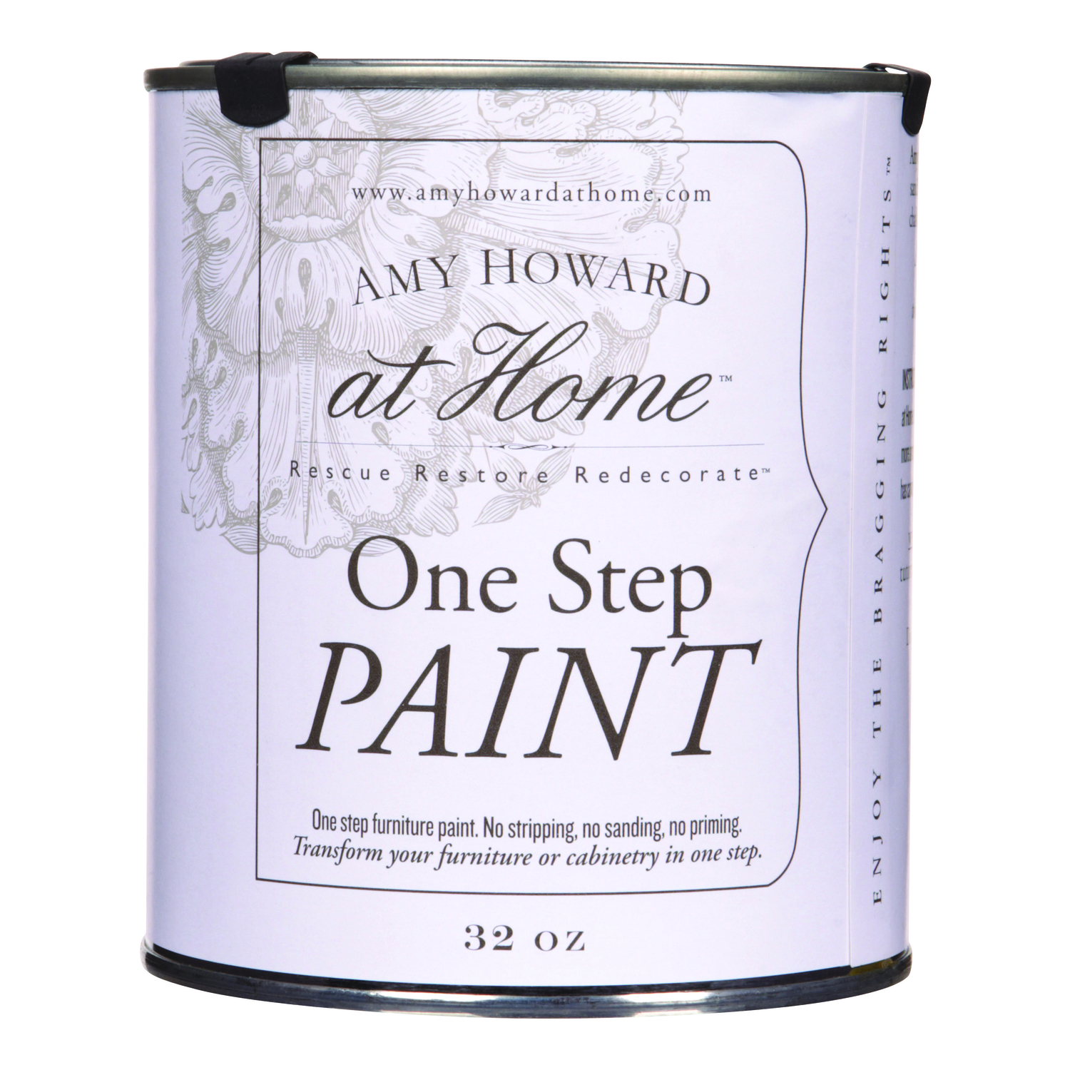 Amy Howard at Home  Flat Chalky Finish  Latex  One Step Paint  Paige Blue  32 oz.