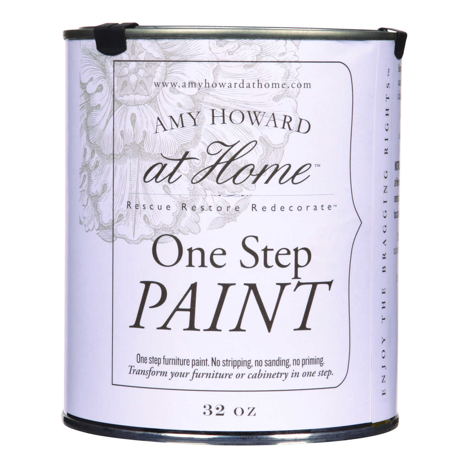Amy Howard at Home  Flat Chalky Finish  Paige Blue  Latex  One Step Paint  32 oz.