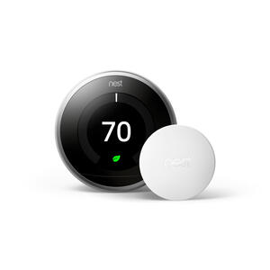 Google  Nest  Heating and Cooling  Push Buttons  Smart Thermostat