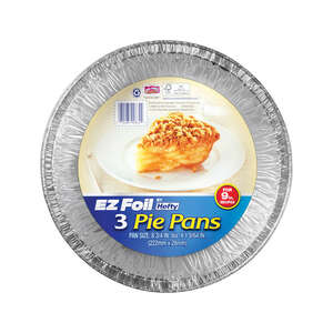 Hefty  EZ Foil  9 in. W x 9 in. L Pie Pan  Silver