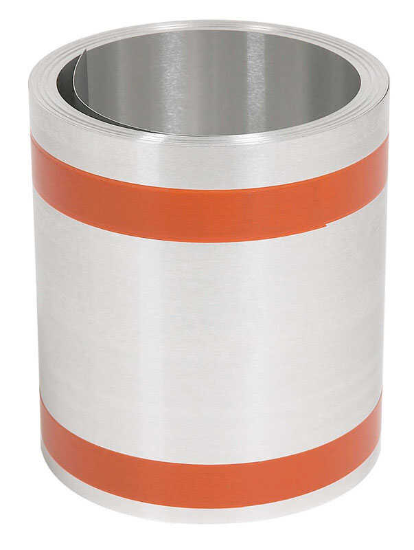 Amerimax  4 in. H x 5.5 in. W x 50 ft. L Silver  Galvanized Steel  Roll  Roll Valley Flashing