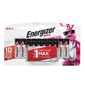 Energizer  MAX  AA  Alkaline  Batteries  16 pk Carded