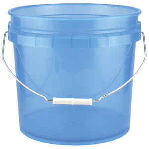 Leaktite  Blue  3.5 gal. Plastic  Bucket