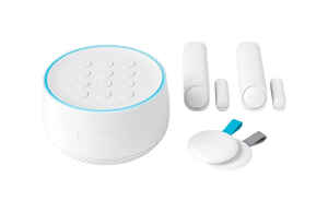 Google  Nest  Plug-in  Indoor  White  Secure Alarm System Starter Pack