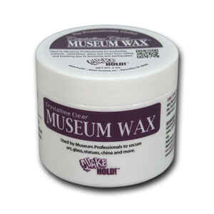 Quake Hold  Clear  Museum Wax  1 pk