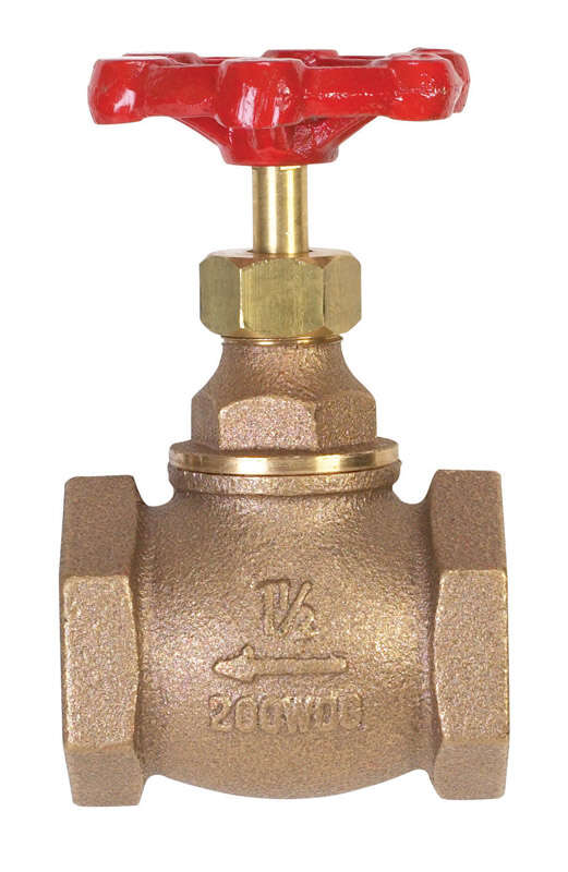 BK Products  ProLine  1-1/2 in. FIP  Brass  Globe Valve