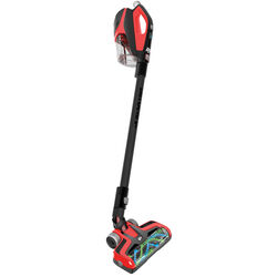 Dirt Devil  Reach Max  Bagless  Cordless  Stick Vacuum  24 amps Standard  Red
