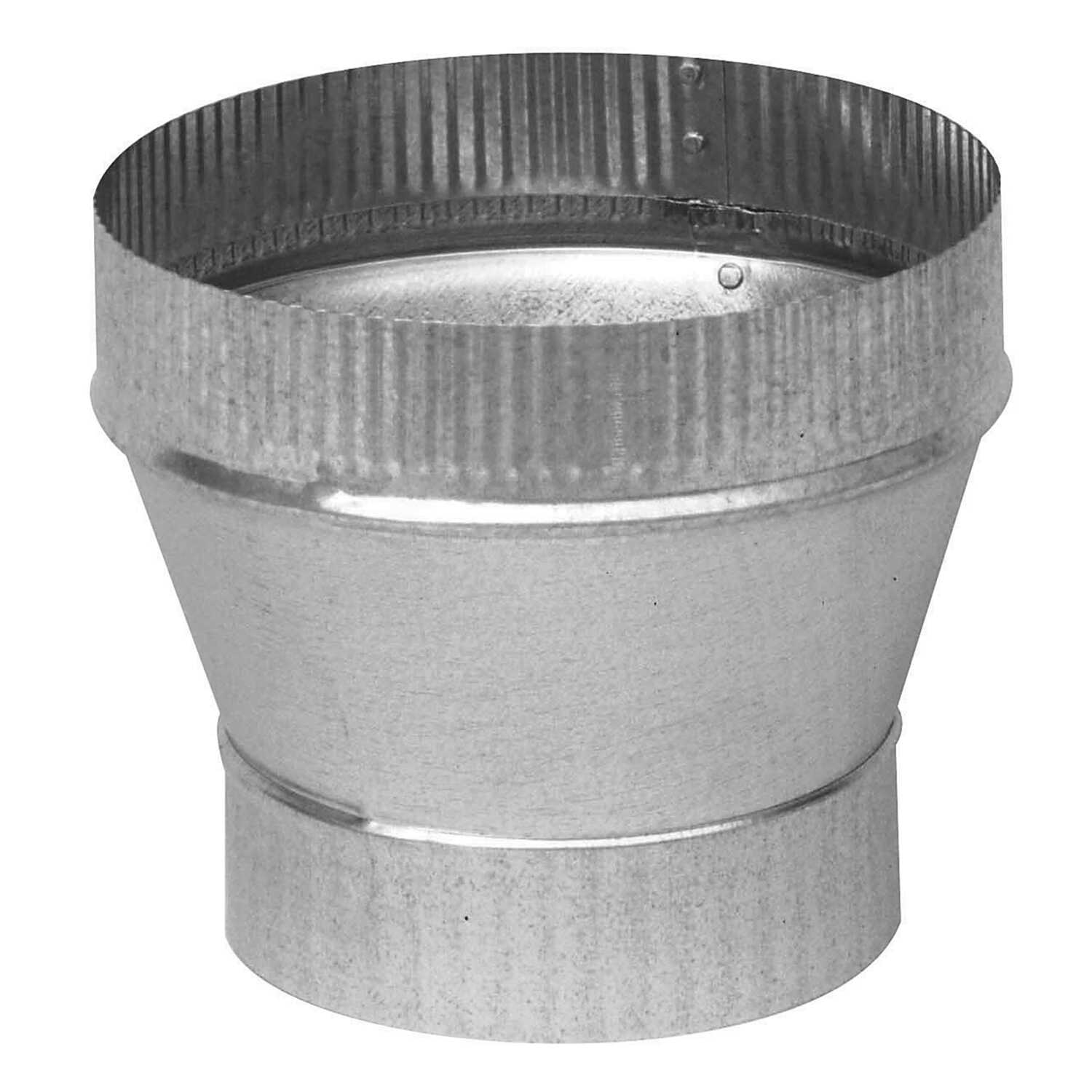 Imperial  5 in. Dia. x 6 in. Dia. Galvanized Steel  Stove Pipe Increaser