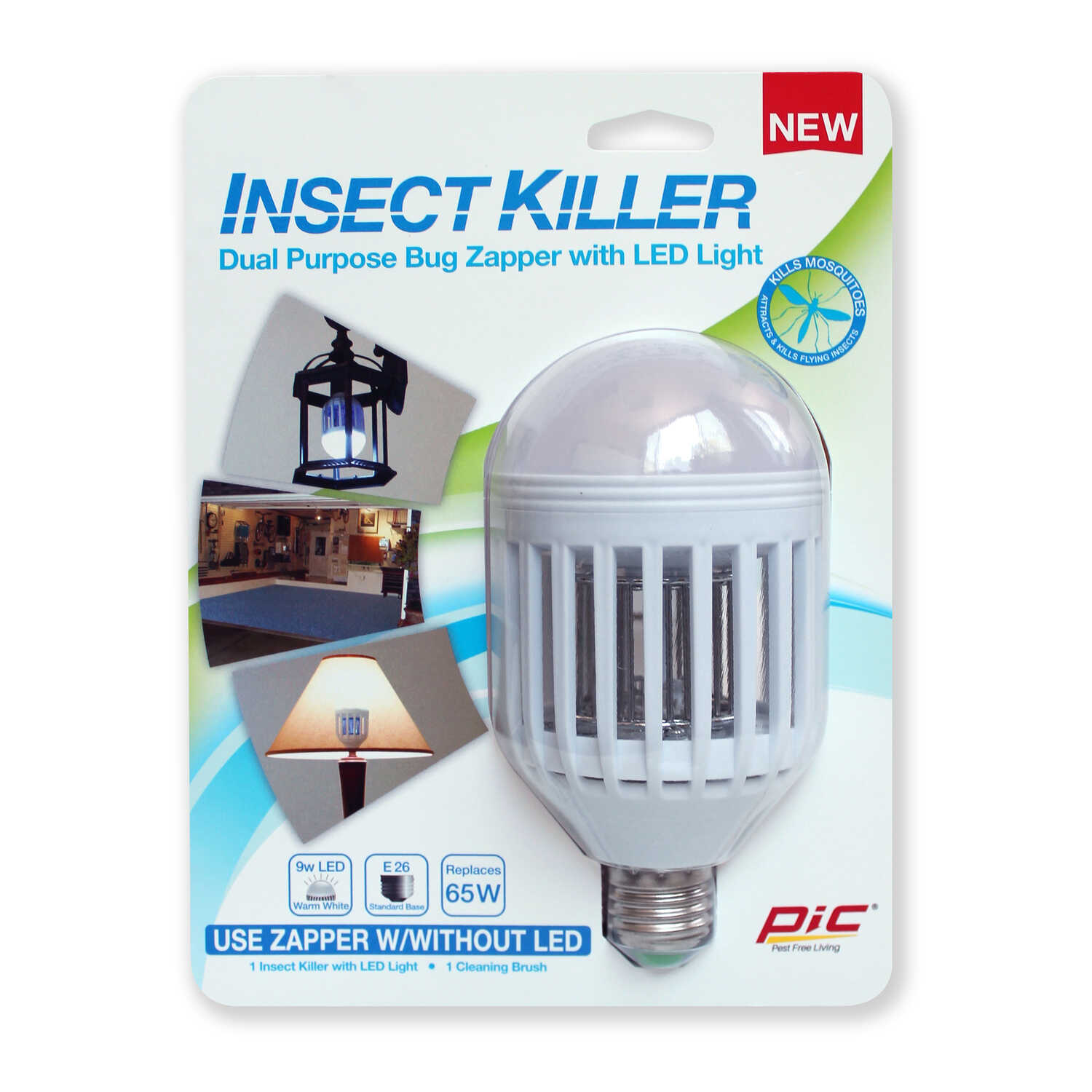 PIC  Indoor and Outdoor  Electric Insect Killer Replacement Bulb  855 sq. ft.