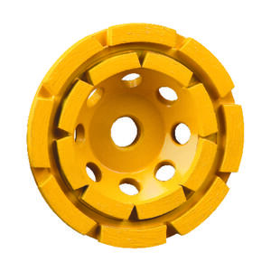 DeWalt  Extended Performance  4-1/2 in. Dia. x 1.5 in. thick  x 5/8 in.   Cup Grinding Wheel  1 pc.
