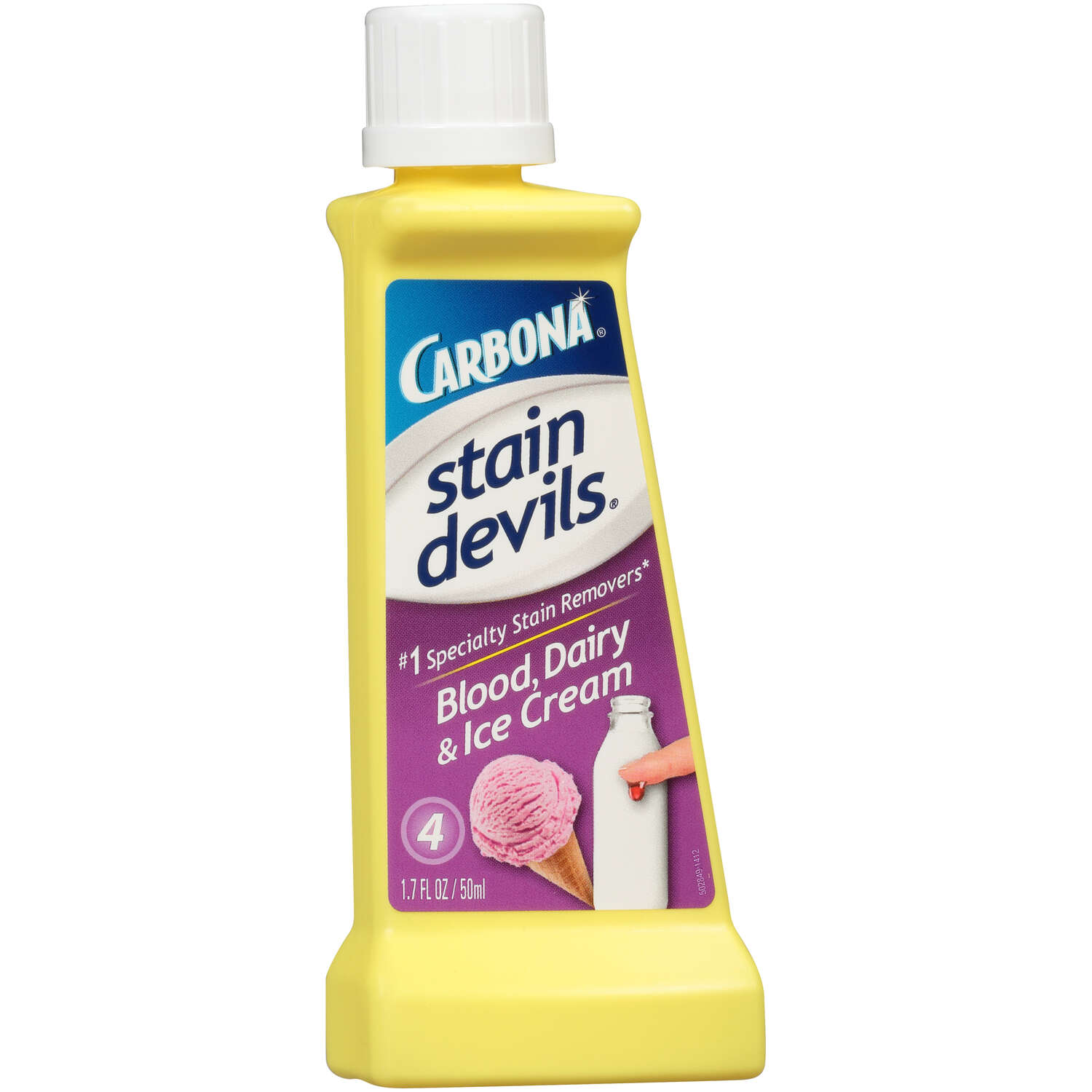 Carbona Stain Devils No Scent Stain Remover Liquid 1 pk