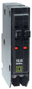 Square D  QO  15/15 amps Tandem  2-Pole  Circuit Breaker