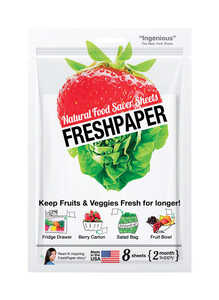 FreshPaper  1 pk Produce Saver Sheets