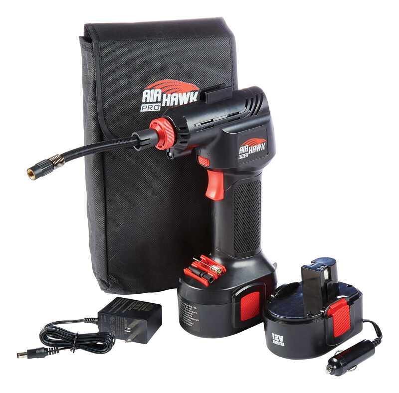 Air Hawk  As Seen On TV  Vertical  Portable Hand-Held Air Compressor  125 psi 1 hp