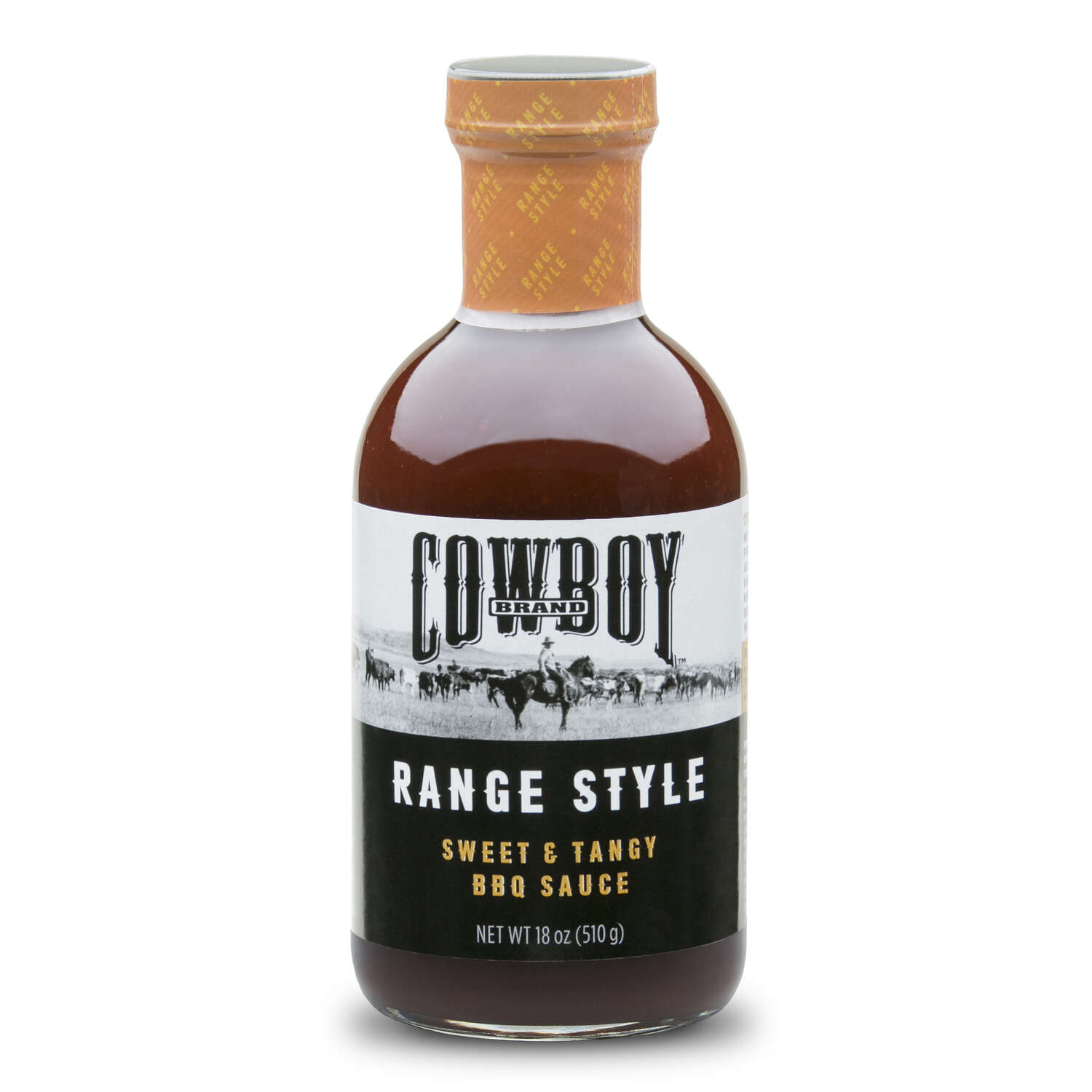 Cowboy Range Style Sweet and Tangy BBQ Sauce 18 oz.