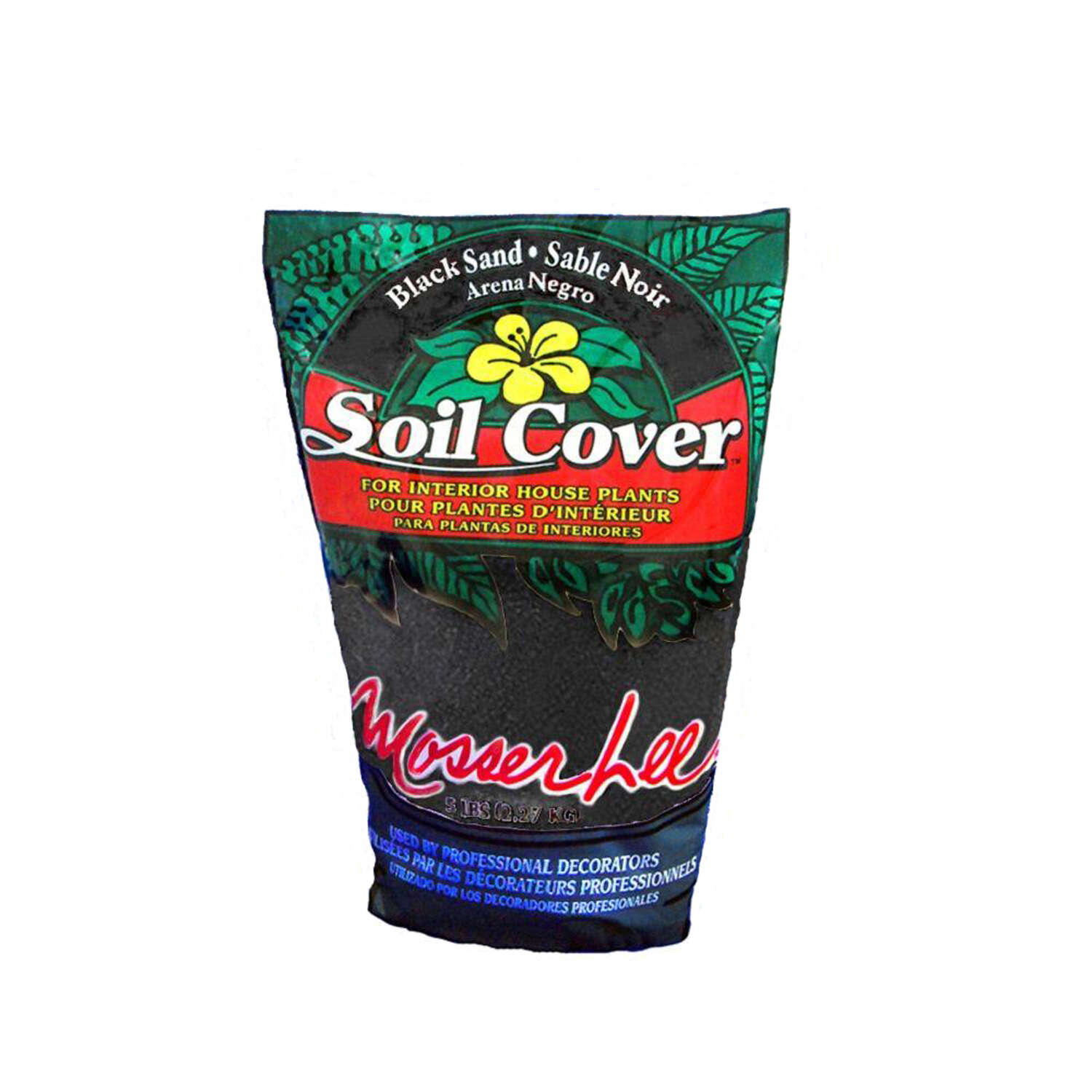 Mosser Lee Black Sand Soil Cover 1.5 quart, dry
