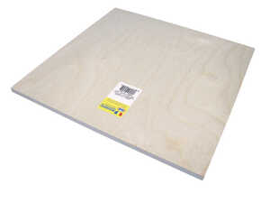 Midwest Products  12 in. W x 12 in. L x 3/8 in.  Plywood
