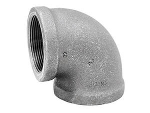 Anvil  1/8 in. FPT   x 1/8 in. Dia. FPT  Galvanized  Malleable Iron  Elbow