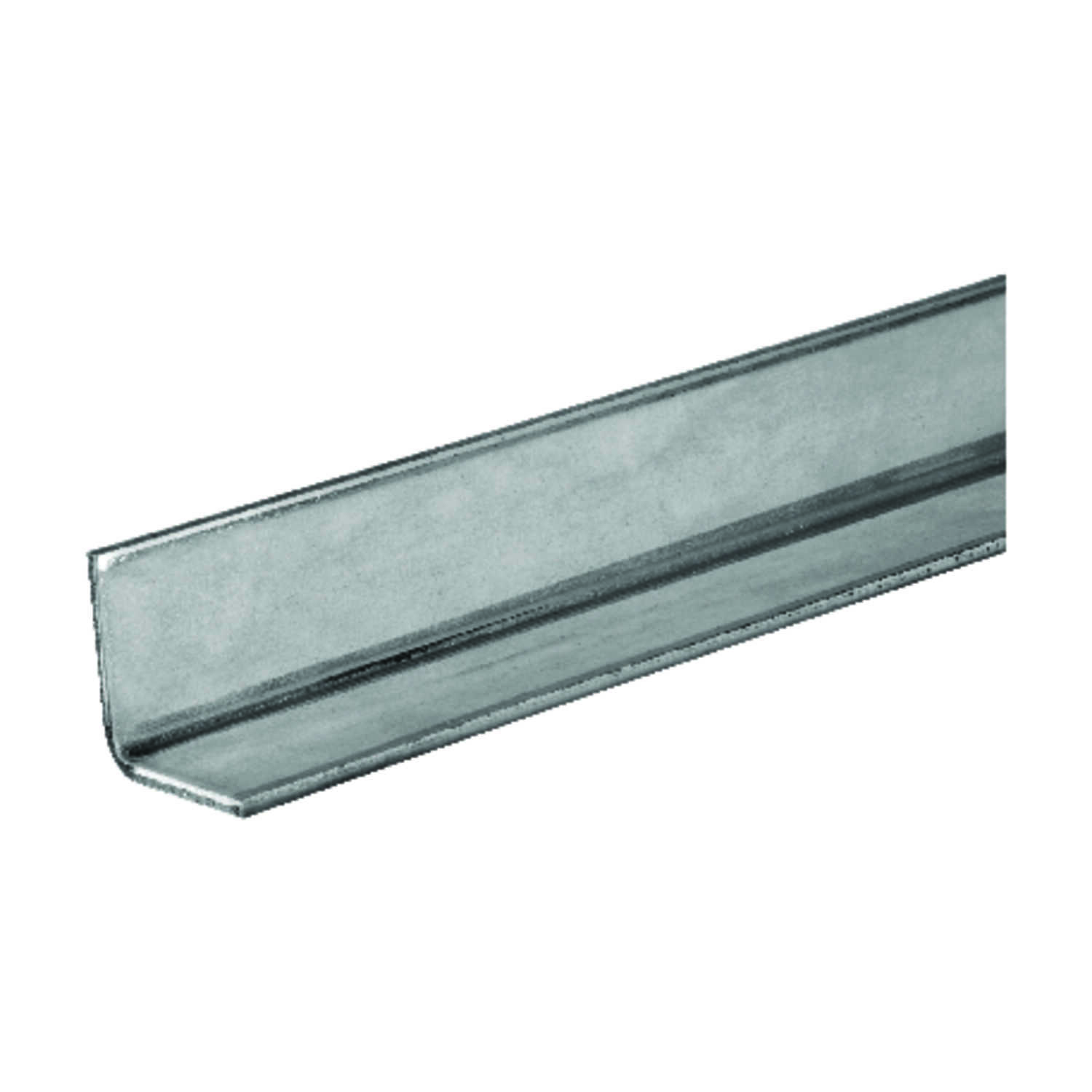 Boltmaster  1.25 in. H x 1.25 in. H x 36 in. L Zinc Plated Steel  Angle