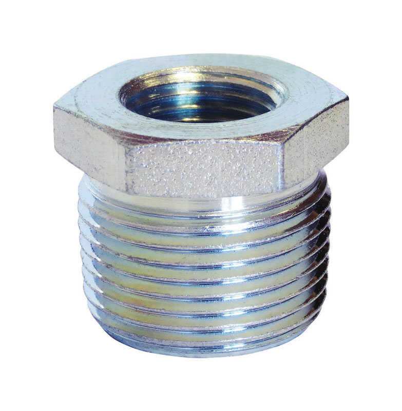 Anvil  3/4 in. MPT   x 1/2 in. Dia. FPT  Galvanized  Malleable Iron  Hex Bushing