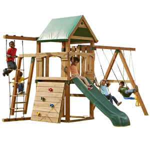 Swing-N-Slide  Trekker  Wood  Swing Set