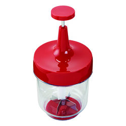 Good Cook Red/Clear Plastic Food Chopper
