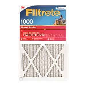 3M  Filtrete  20 in. H x 1 in. D x 16 in. W Air Filter