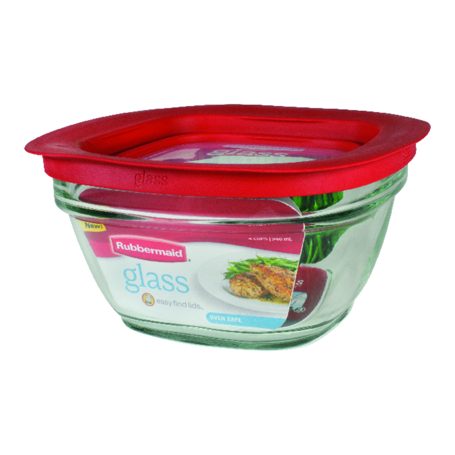 Rubbermaid  4 cups Food Storage Container