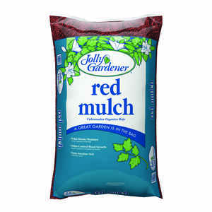 Jolly Gardener  Red  Red  Mulch  2 cu. ft.
