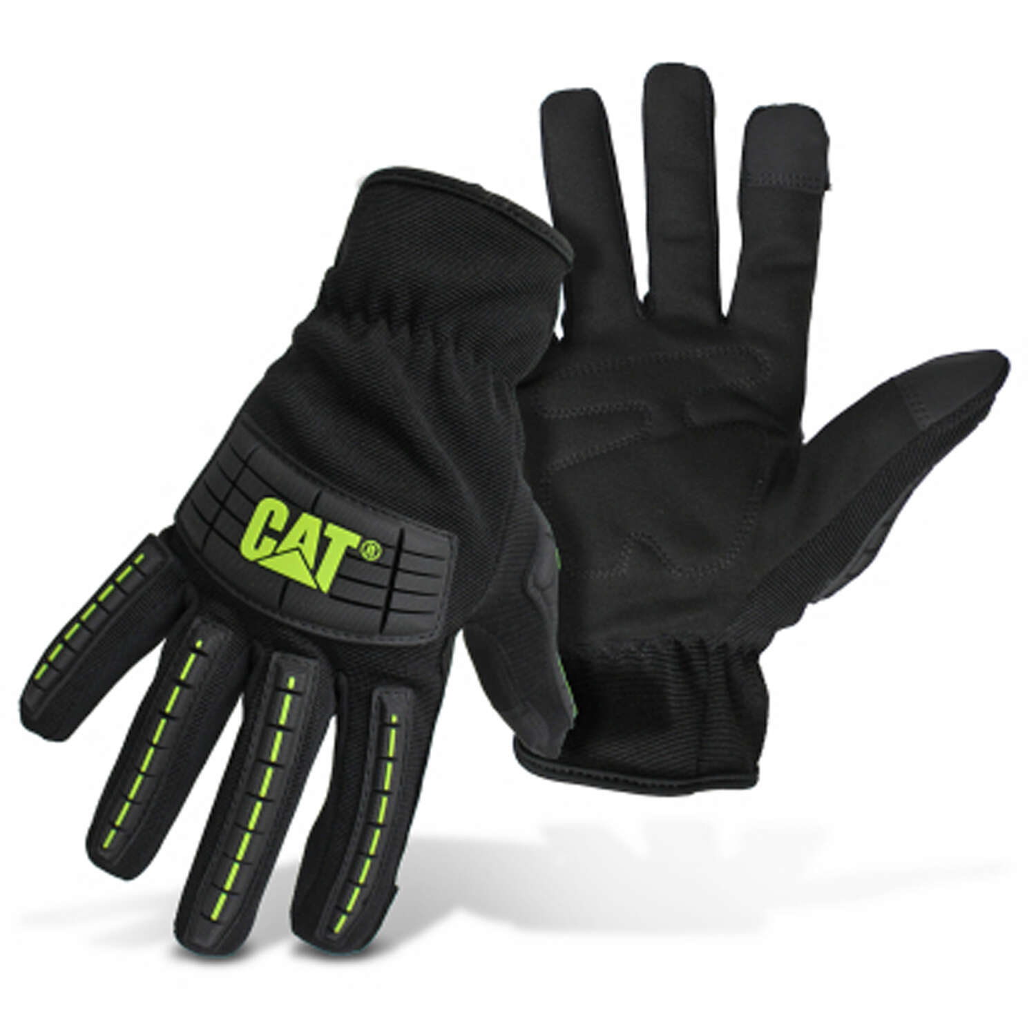 CAT Men's Outdoor High Impact Utility Gloves Black XL 1 pair