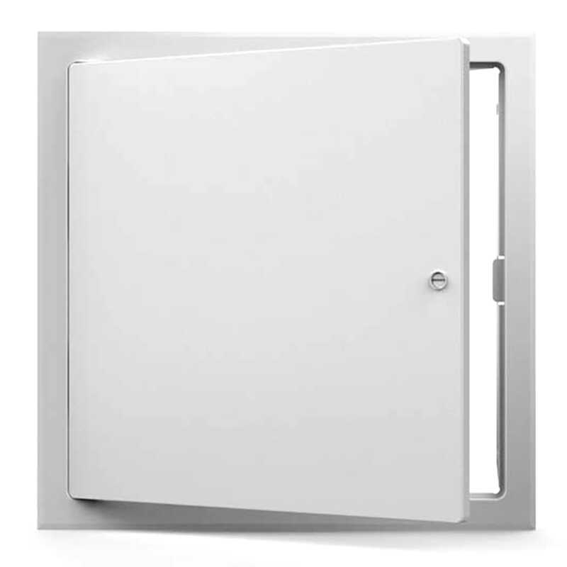Acudor  8 in. W x 8 in. H Steel  White  Access Panel