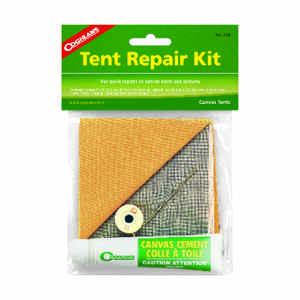 Coghlan's  Gray  Tent Repair Kit  6.625 in. H x 8 in. W x 8 in. L 1 pk