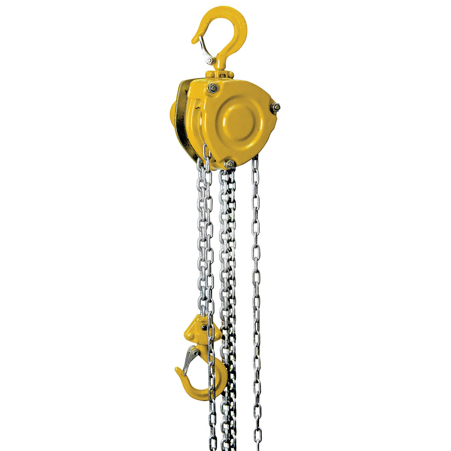 OZ Lifting Products  Steel  500 lb. capacity Chain Hoist