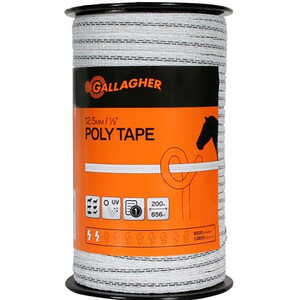 Gallagher  Poly Tape  White/Green