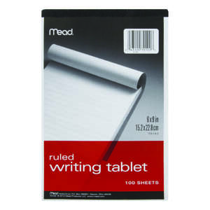 Mead  9 in. L x 6 in. W Memo Pad  100