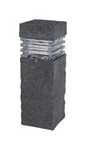 Paradise  Black  Low Voltage  20 watts LED  Bollard Light  1 pk